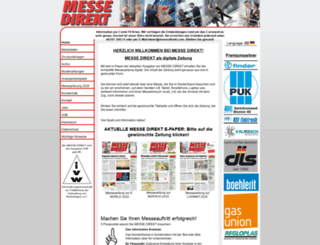 messedirekt.com screenshot