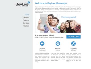 messenger.beyluxe.com screenshot