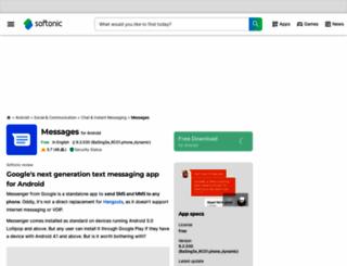 messenger.en.softonic.com screenshot