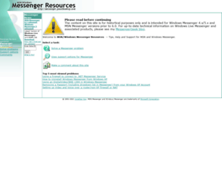 messenger.jonathankay.com screenshot