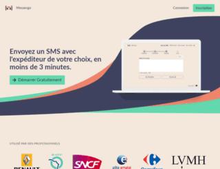 messengo.com screenshot