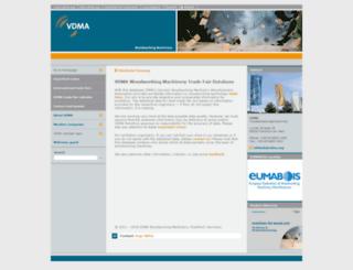 messetool.vdma.org screenshot