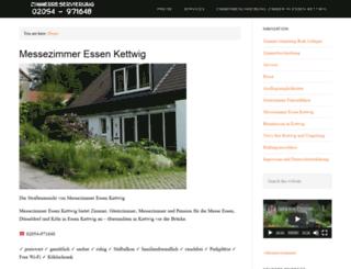 messezimmer-essen.com screenshot