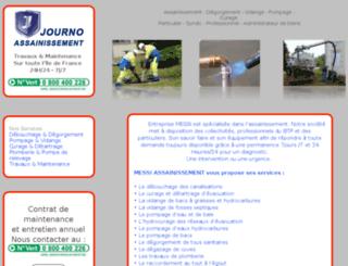 messi-assainissement.fr screenshot
