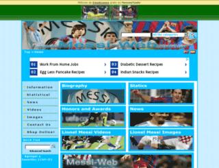 messi-web.com.ar screenshot