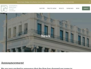messinalaw.com screenshot