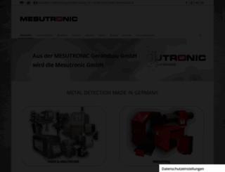 mesutronic.de screenshot