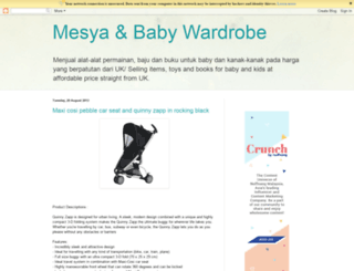 mesyababy.blogspot.com screenshot