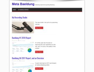 meta.baeldung.com screenshot