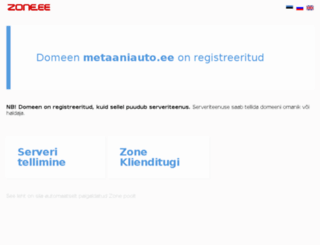 metaaniauto.ee screenshot