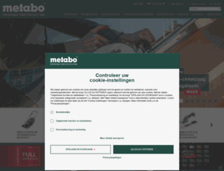 metabo.nl screenshot