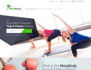 metabodyfitness.com screenshot