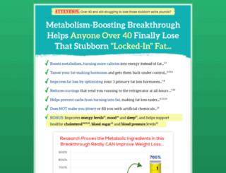metabolicfire.com screenshot