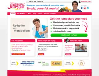 metabolicjumpstart.com screenshot