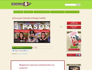 metabolismotv.com screenshot