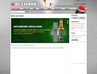 metabond.ro screenshot