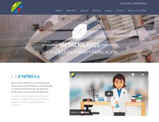 metacrilatosburgos.com screenshot