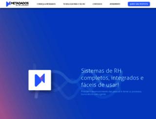 metadados.com.br screenshot