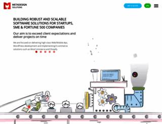 metadesignsolutions.com screenshot