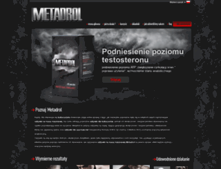 metadrol.pl screenshot