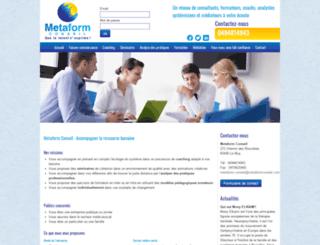 metaformconseil.com screenshot