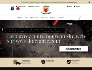 metairie.fr screenshot