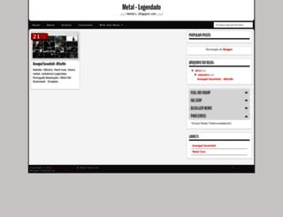 metal-l.blogspot.com screenshot