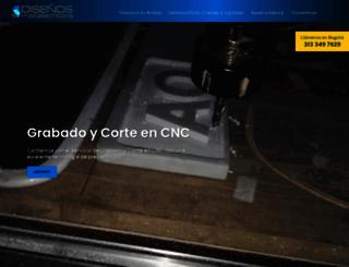 metalacrilicos.com screenshot