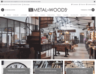 metalandwoods.com screenshot