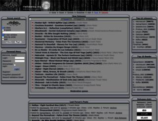 metalarea.org screenshot