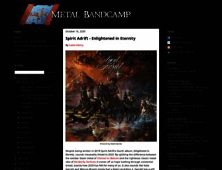 metalbandcamp.com screenshot