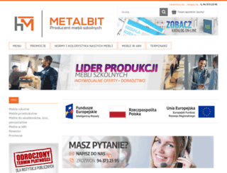 metalbit.com.pl screenshot
