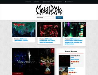 metalbite.com screenshot