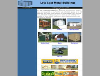 metalbuildings.homedistro.com screenshot