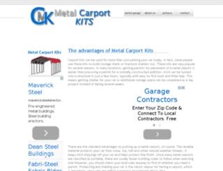 metalcarportskits.com screenshot