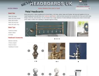 metalheadboardsuk.co.uk screenshot