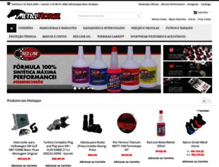 metalhorse.com.br screenshot