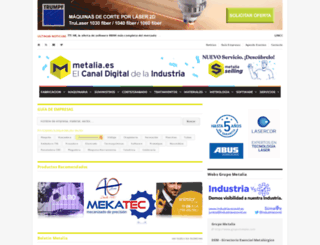 metalia.es screenshot
