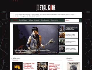 metalkaoz.com screenshot