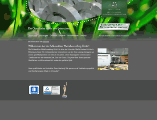 metallveredelung-schkeuditz.de screenshot