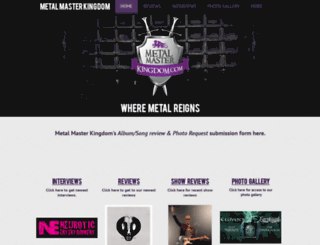 metalmasterkingdom.com screenshot