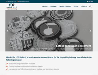 metalprint-ua.com screenshot