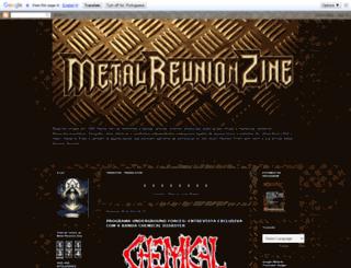 metalreunionzine.blogspot.com.br screenshot
