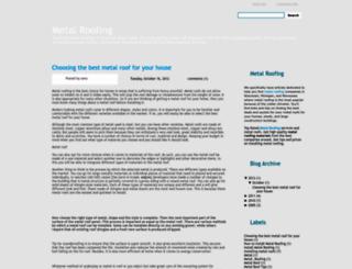 metalroofingresource-metalroofing.blogspot.com screenshot