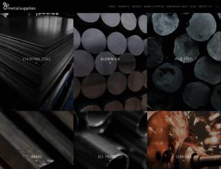 metalsupplies.com screenshot