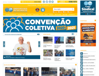 metalurgicos.org.br screenshot