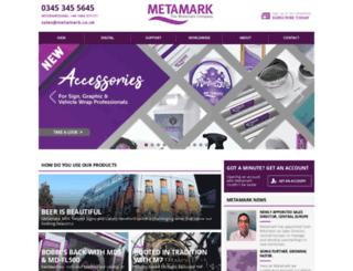 metamark.co.uk screenshot