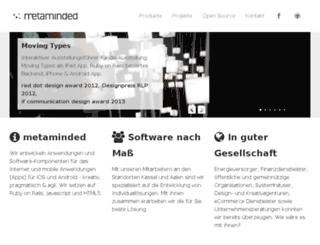 metaminded.com screenshot