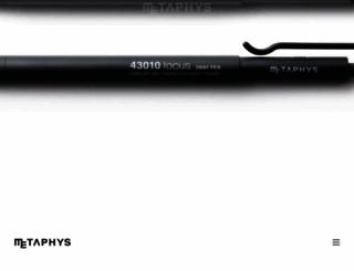 metaphys.jp screenshot