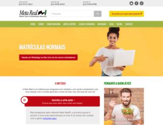 metareal.com.br screenshot